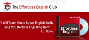 effortless english club 300x135 Rule 7: Listen and Answer, not Listen and Repeat