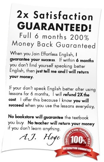 Effortless English Lessons
