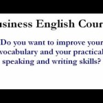 Business English Learning Lessons
