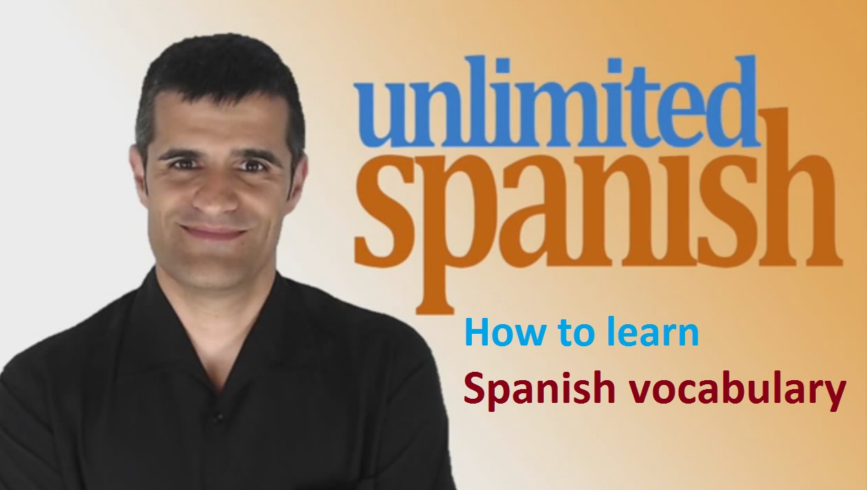 learning Spanish vocabulary